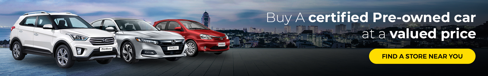 BUY A CERTIFIED PRE-OWNED CAR